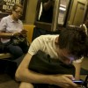 Phones in the Subway: Progress or Scourge?