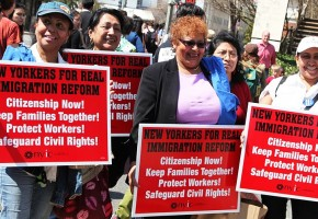 Thousands Rally for Immigration Reform
