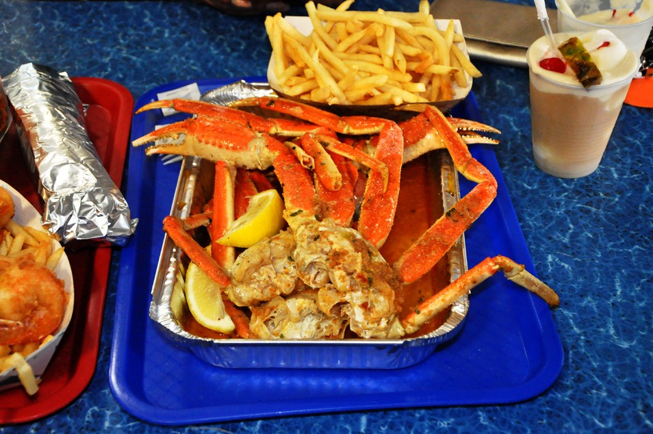 It Is An Island Of Restaurants With Many To Choose From Like Lobster House Sea S Sammy Fish Box And The Black Whale