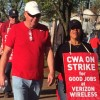 Verizon Workers Strike for Better Pay and Benefits