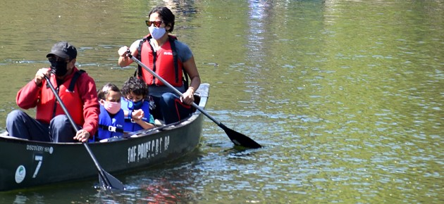 Environmental Ed at the Bronx River House